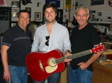 Pictured L-R: Brent Weber, Graham Colton, Randy Powers